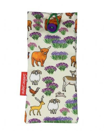 Selina-Jayne Scottish Highlands Limited Edition Designer Soft Glasses Case